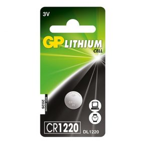 GP Lithium High Quality Coin Battery 1220